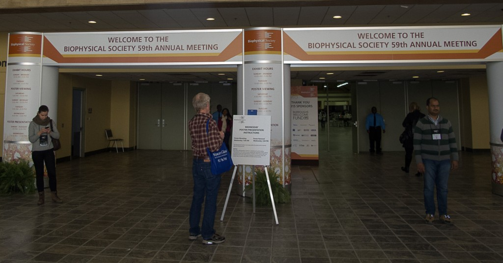 Welcome to the Biophysical Society Meeting!