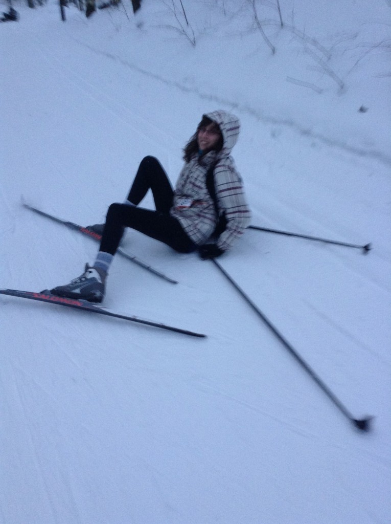 Skiing: Nailed it.